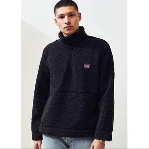 Levis Quarter Zip Sherpa Pullover